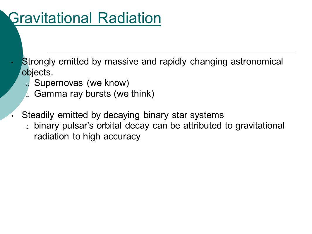 Gravitational Radiation