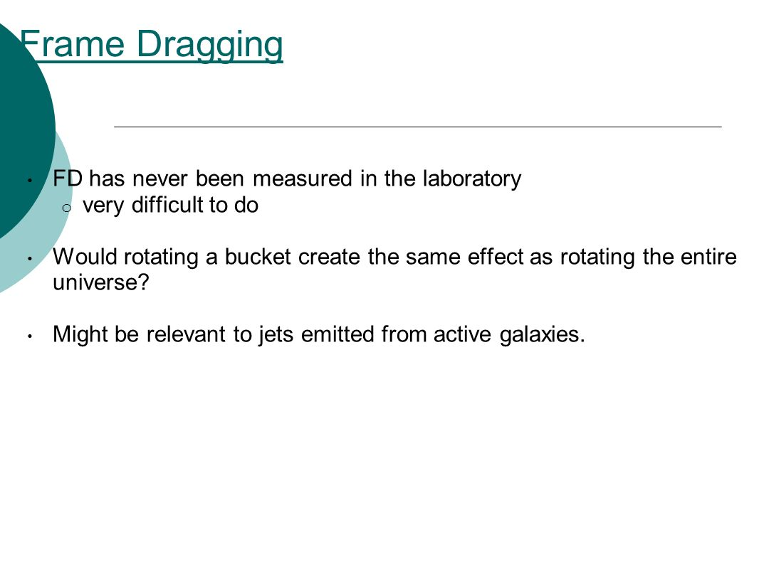 Frame Dragging FD has never been measured in the laboratory