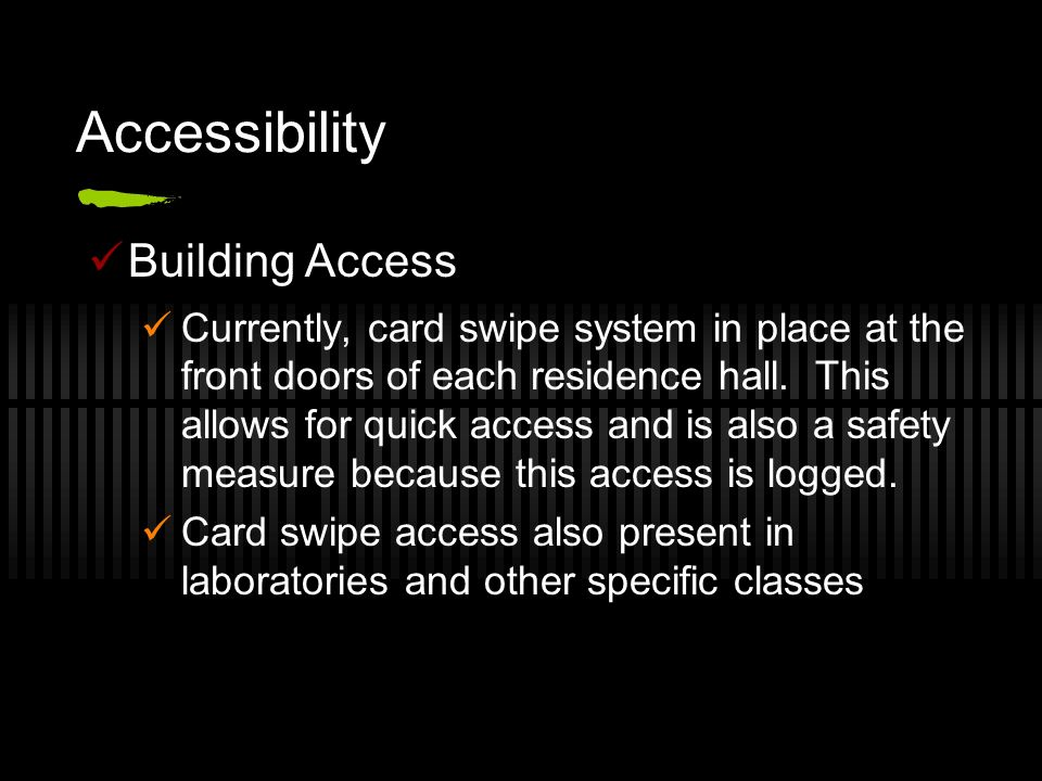 Accessibility Building Access