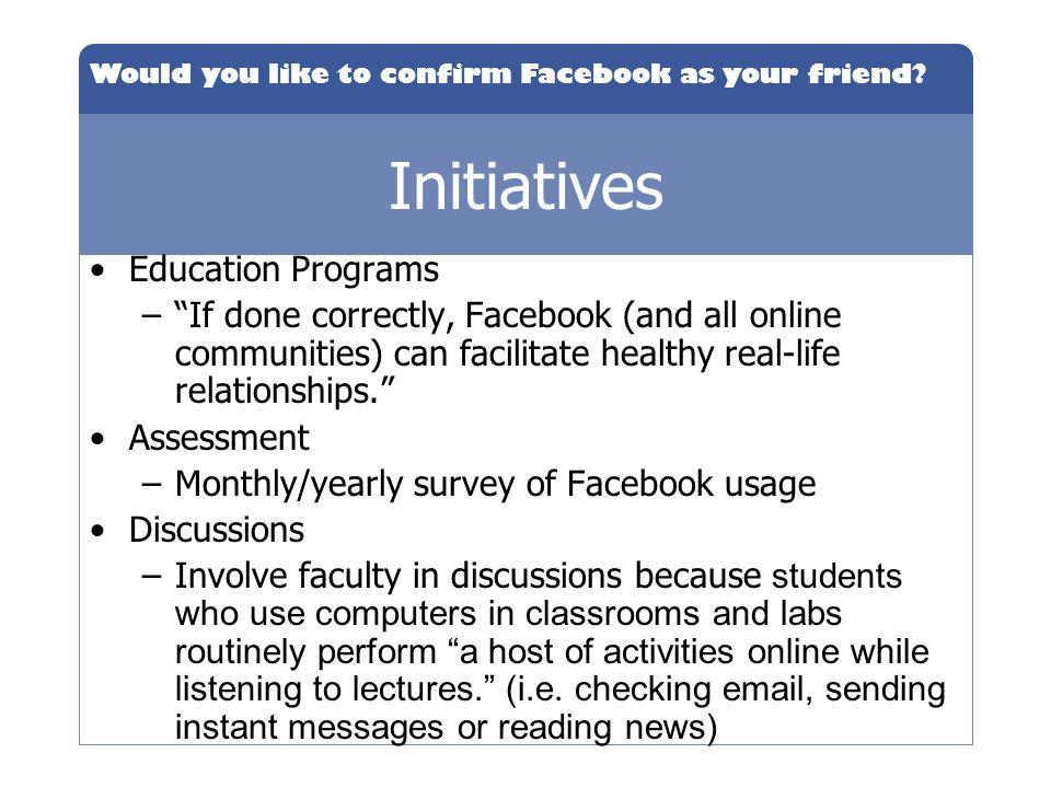Initiatives Education Programs