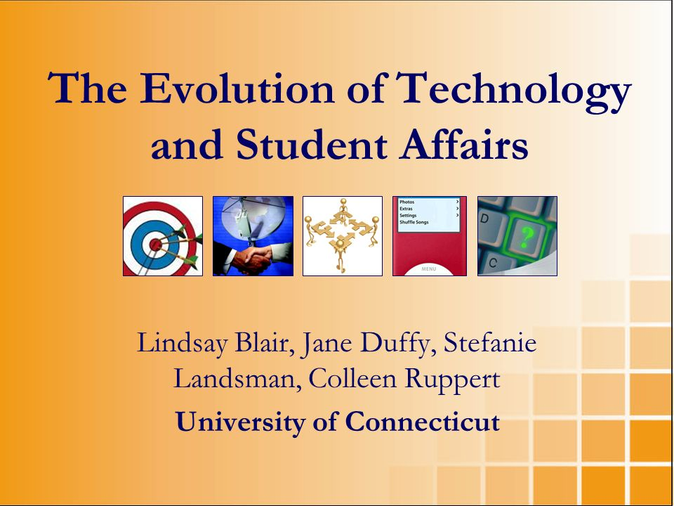 The Evolution of Technology and Student Affairs