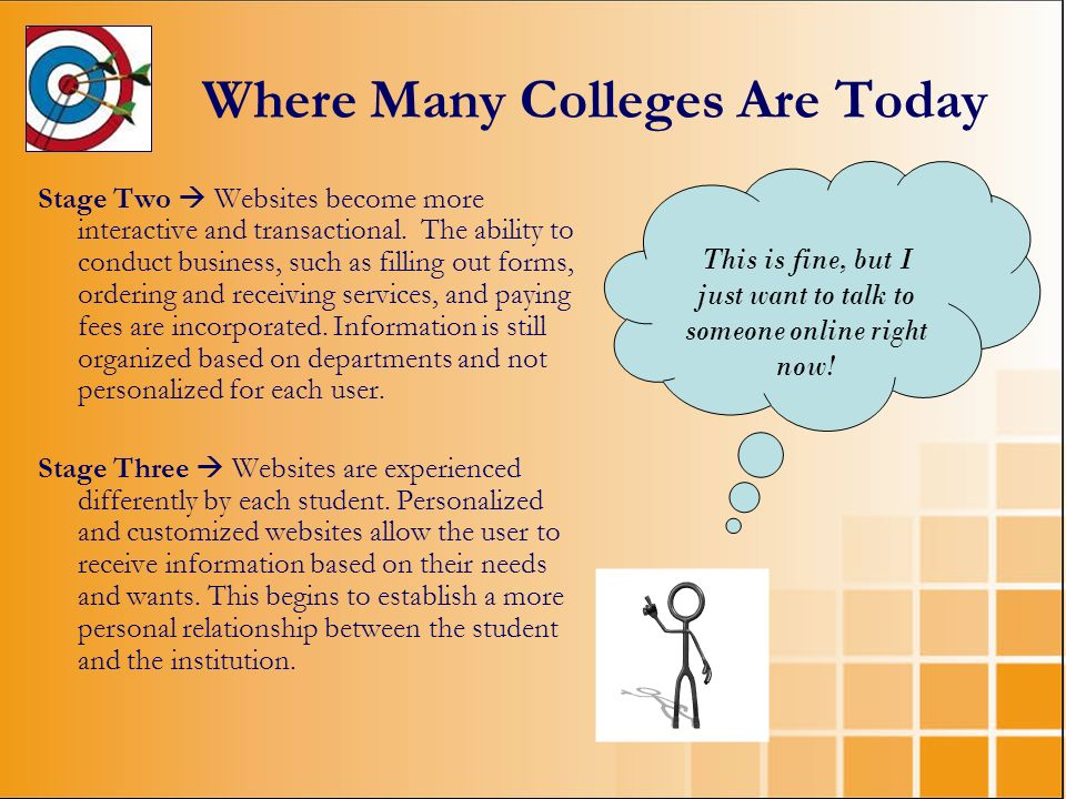 Where Many Colleges Are Today