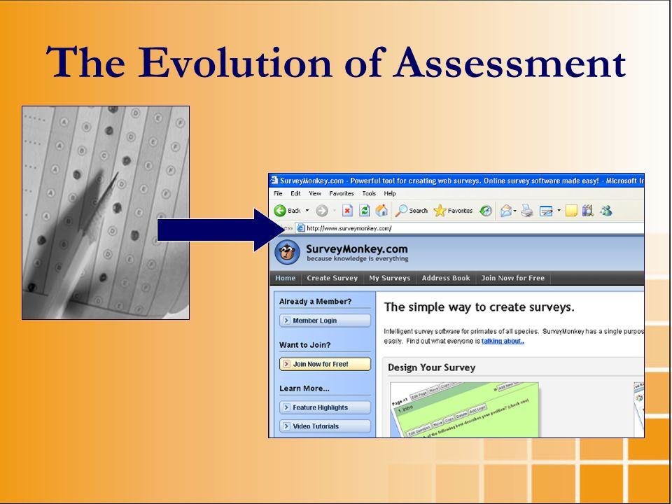 The Evolution of Assessment