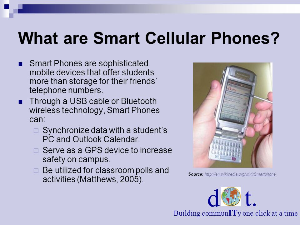 What are Smart Cellular Phones