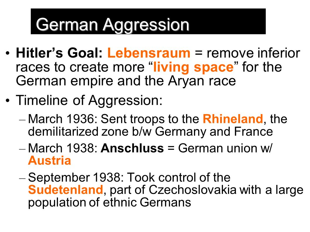 germany aggression essay Chapter 23 the coming of war: japanese attacked pearl harbor, german and italian aggression we will write a custom essay sample on any topic specifically.