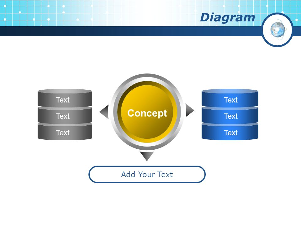 Diagram Concept Add Your Text Text