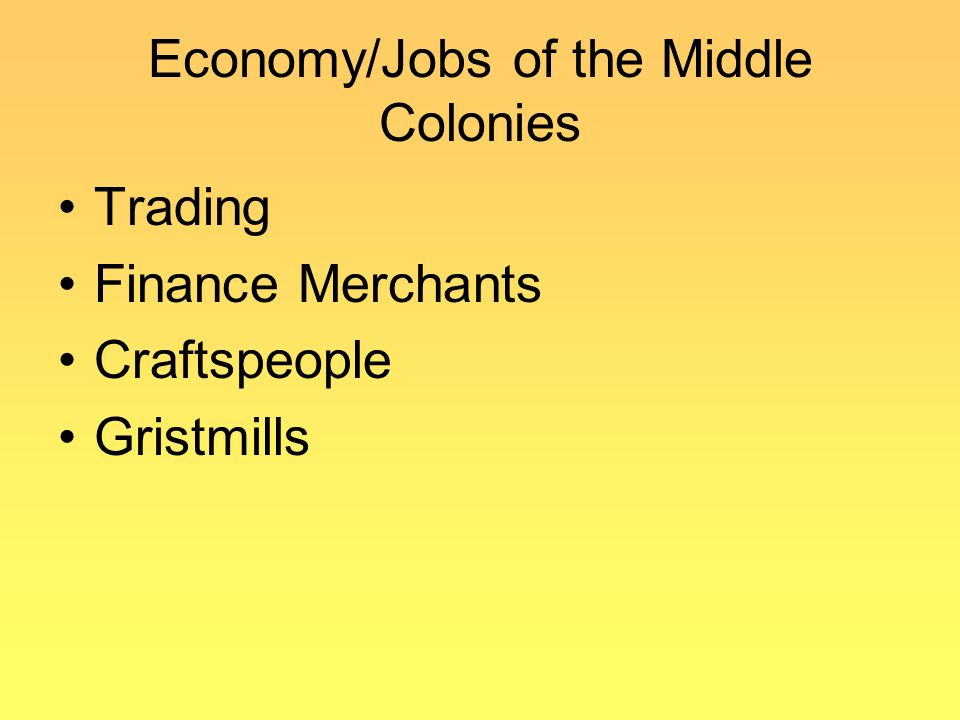 New England, Middle, and Southern colonies - ppt download