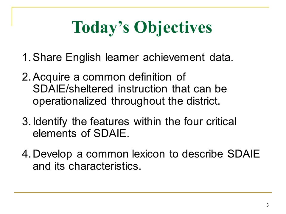 cons of sdaie Language instruction educational program models (sdaie)-based english as a second language (esl) sheltered instructional observation protocol (siop).