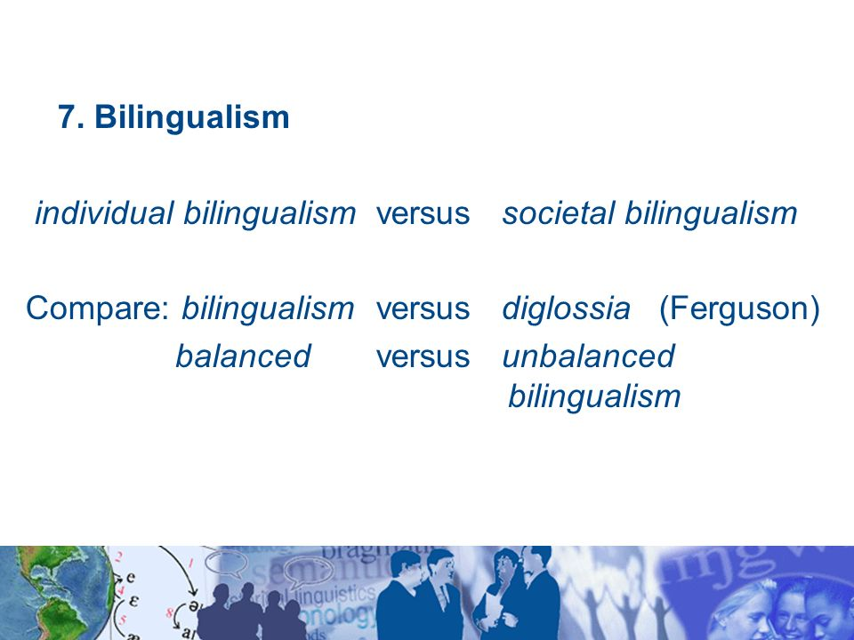 relationship between diglossia and bilingualism the brain