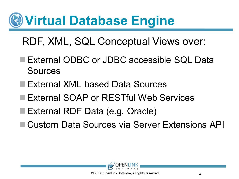 Virtual Database Engine