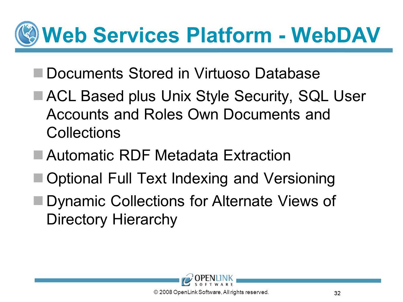 Web Services Platform - WebDAV