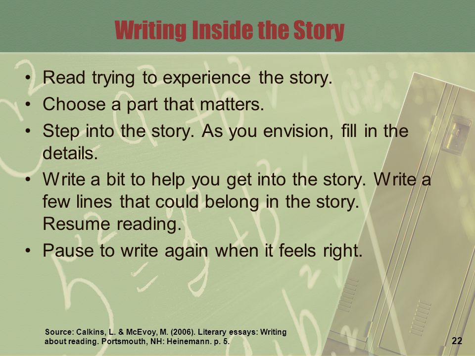 literary essay writing about reading A literary essay is a short, non-fiction composition that covers virtually any literary topic imaginable authors sometimes write literary essays for reading pleasure.