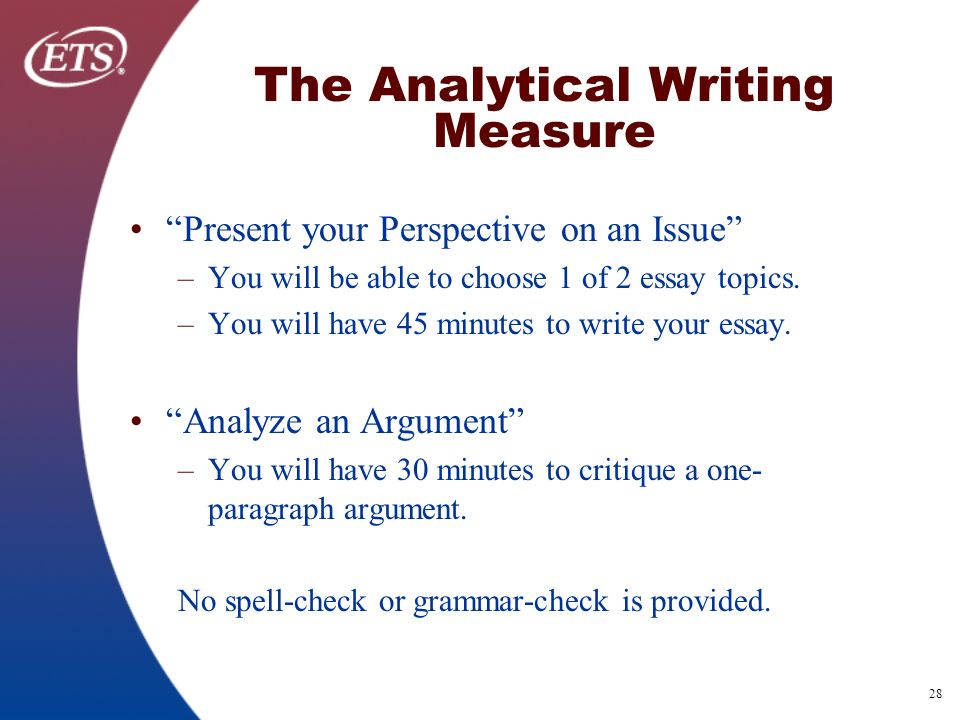 Which is not a component of the introduction to an analytical essay