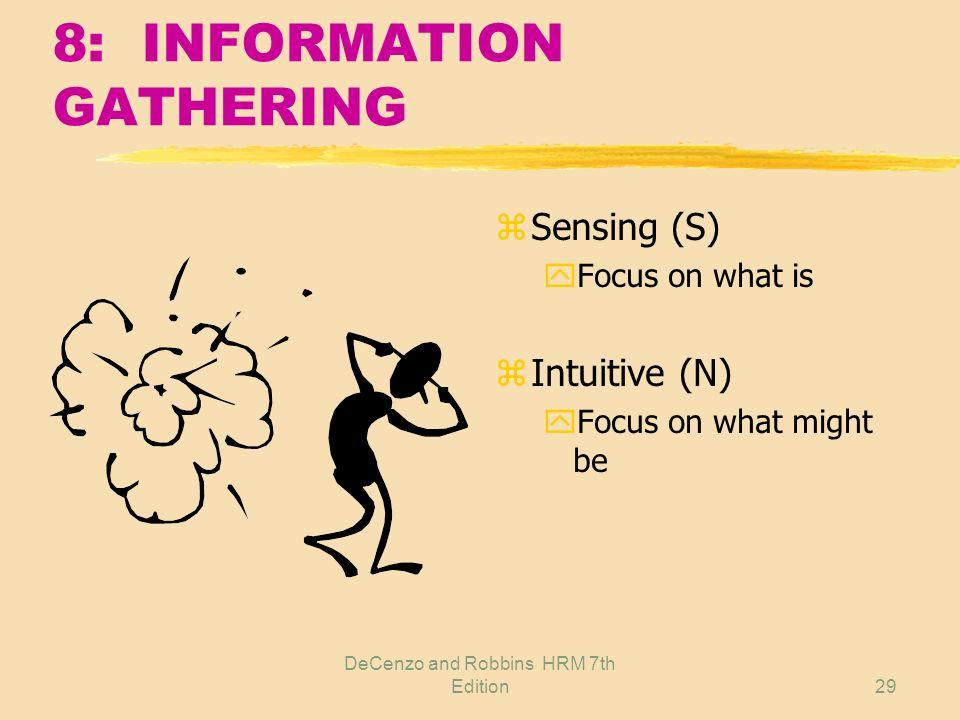 8: INFORMATION GATHERING