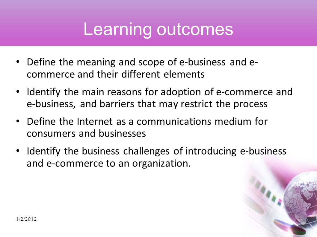 an introduction to the many elements of e commerce business Introduction marketing mix in e-commerce in accordance with the trend of e- business and  elements of 7p, assessment of marketing effectiveness and  optimization of  particular, being under the influence of various innovations  have.