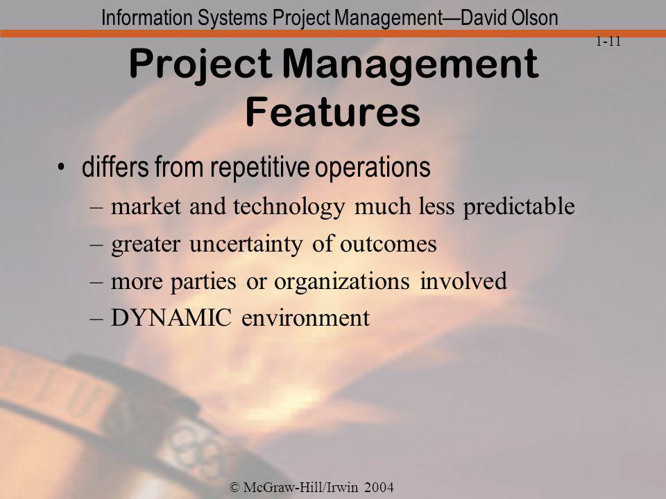 Project Management Features