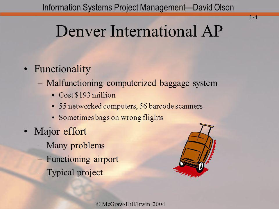 Denver International AP