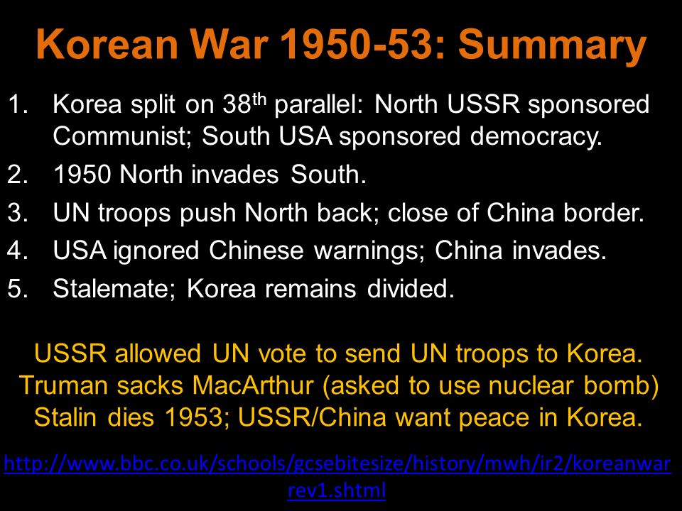 korean war success containment