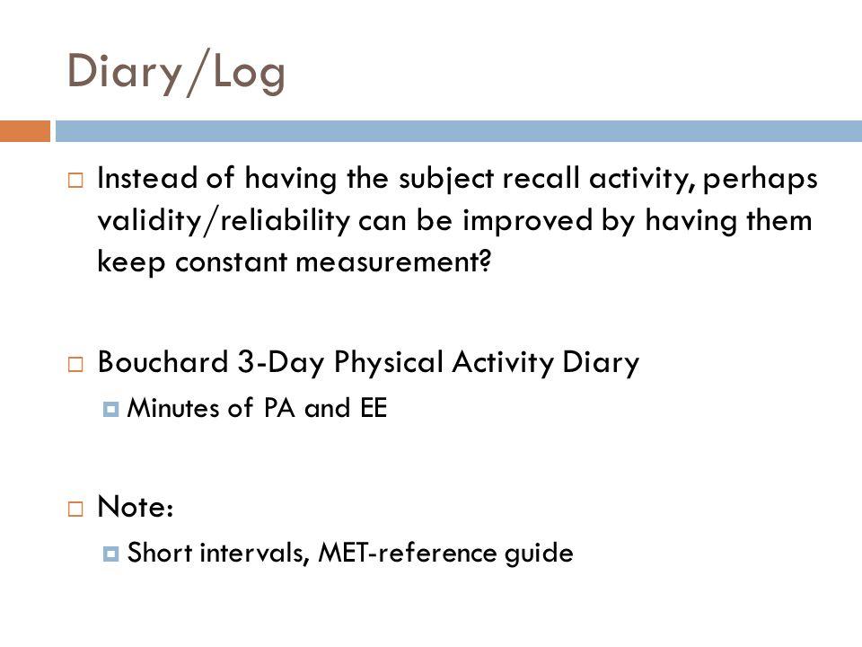 yale physical activity survey pdf
