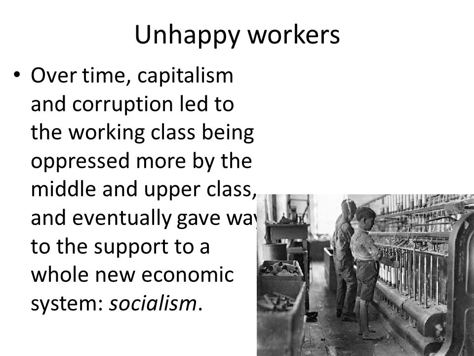 Unhappy workers