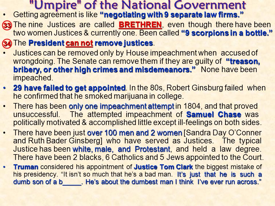 Umpire of the National Government