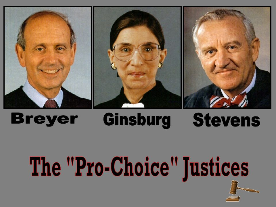 The Pro-Choice Justices