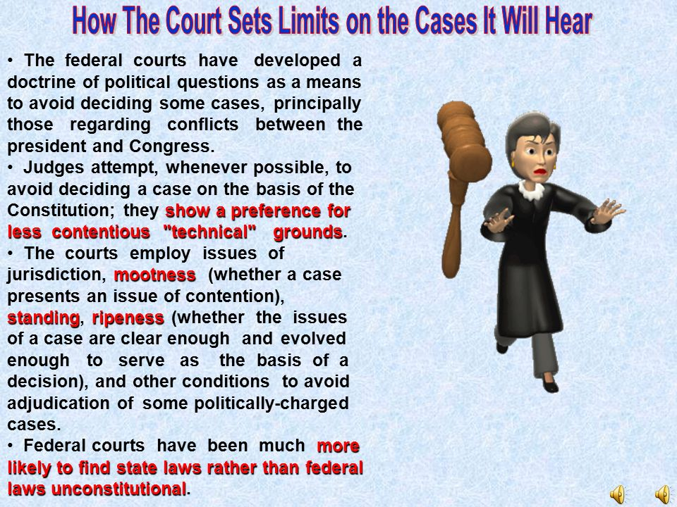How The Court Sets Limits on the Cases It Will Hear