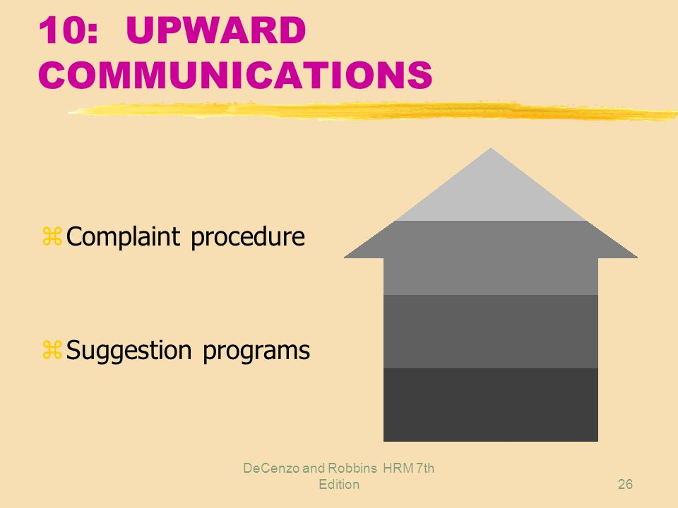 10: UPWARD COMMUNICATIONS