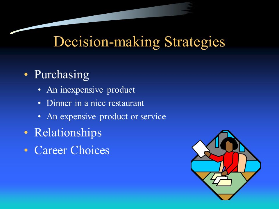 Decision-making Strategies