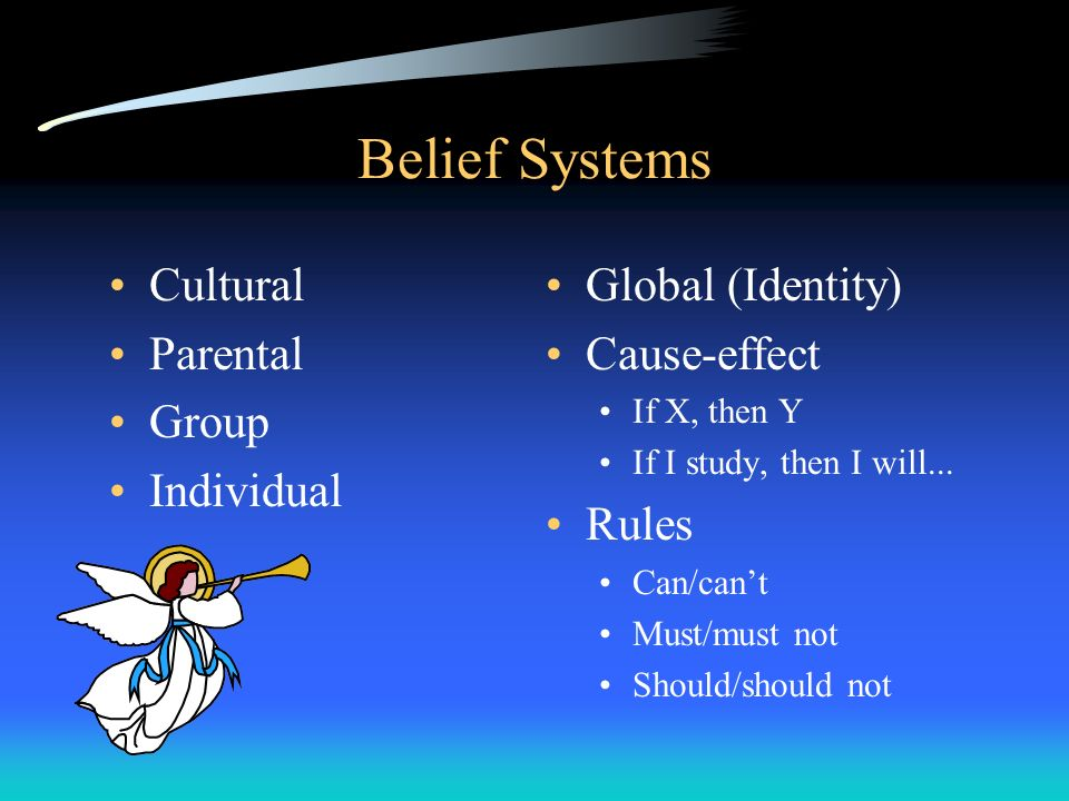 Belief Systems Cultural Parental Group Individual Global (Identity)