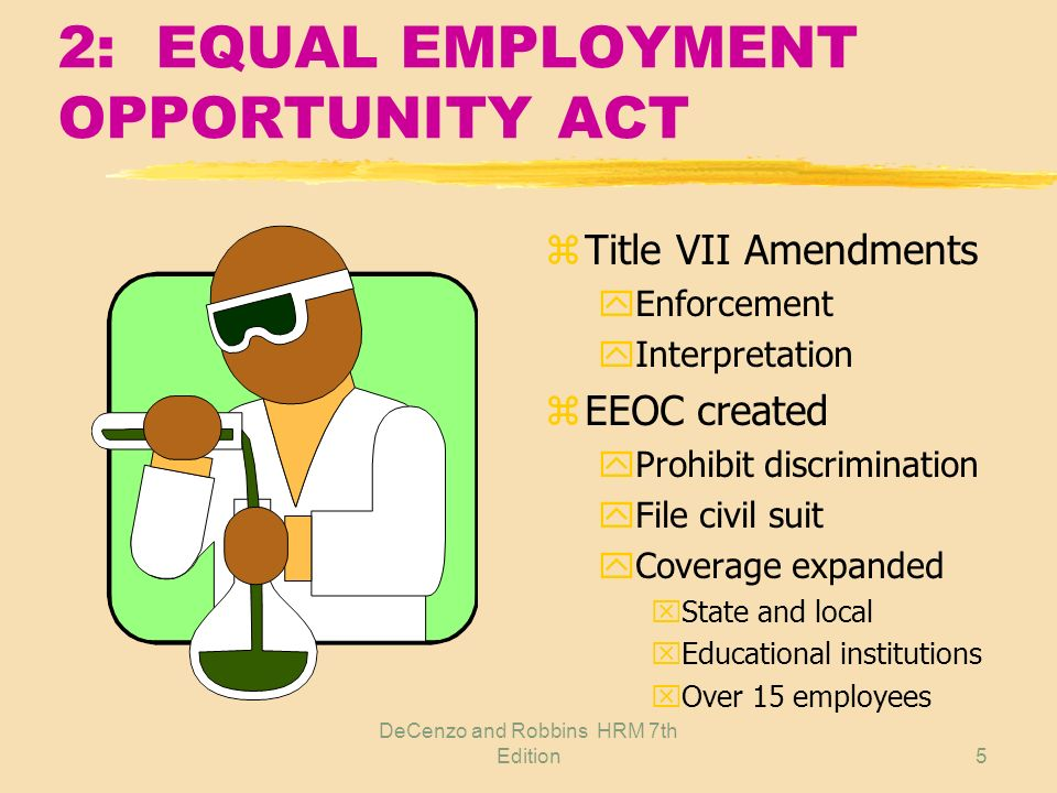 2: EQUAL EMPLOYMENT OPPORTUNITY ACT