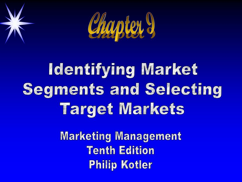 Segments and Selecting