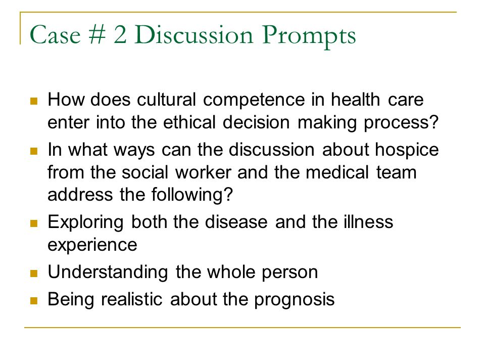 a discussion on the ethical decision making in medicine Modern medical ethics makes a series of assumptions about how patients and   contemporary discussions of autonomy and decision-making are considered.