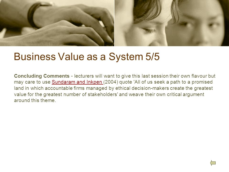 Business Value as a System 5/5