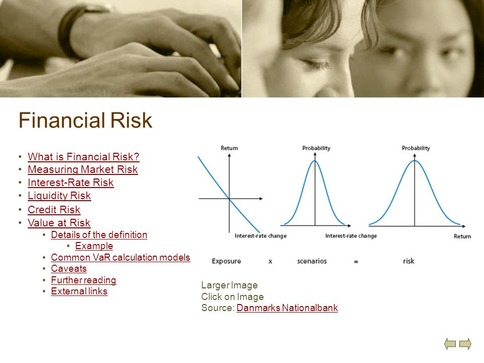 Financial Risk What is Financial Risk Measuring Market Risk