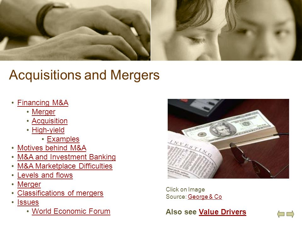 Acquisitions and Mergers
