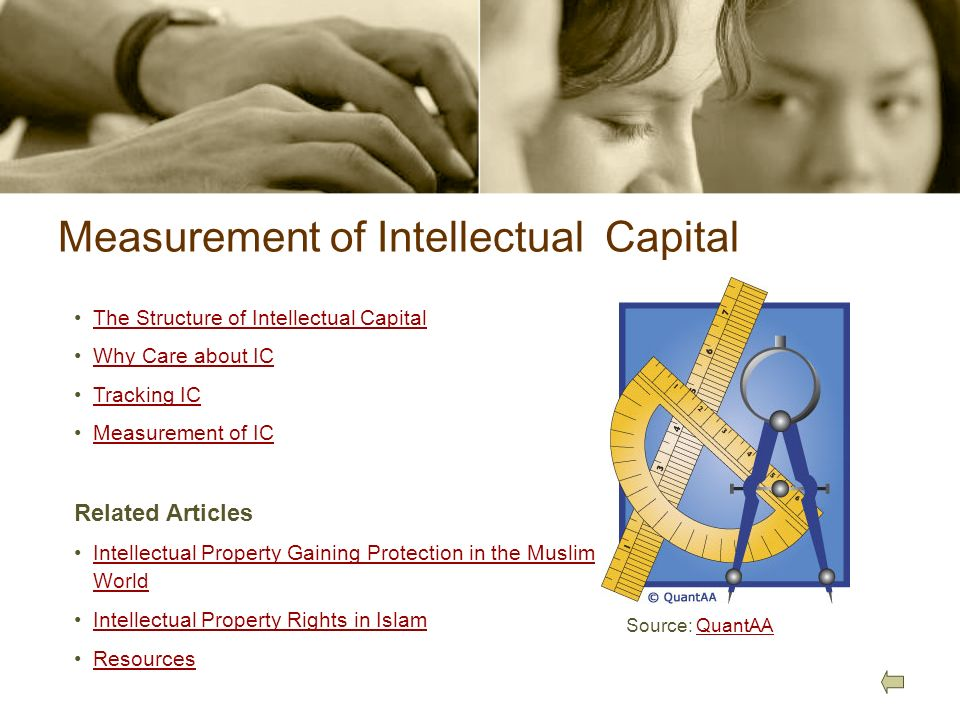 Measurement of Intellectual Capital