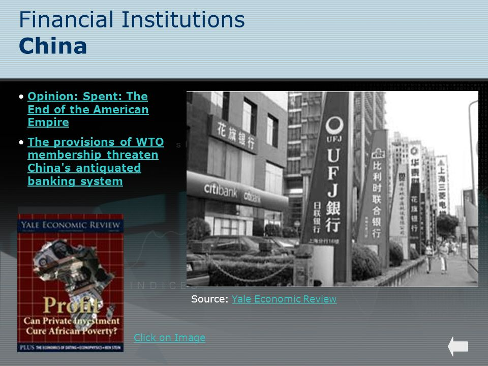 Financial Institutions China