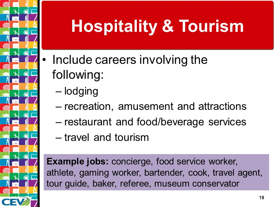 Recreation tourism hospitality