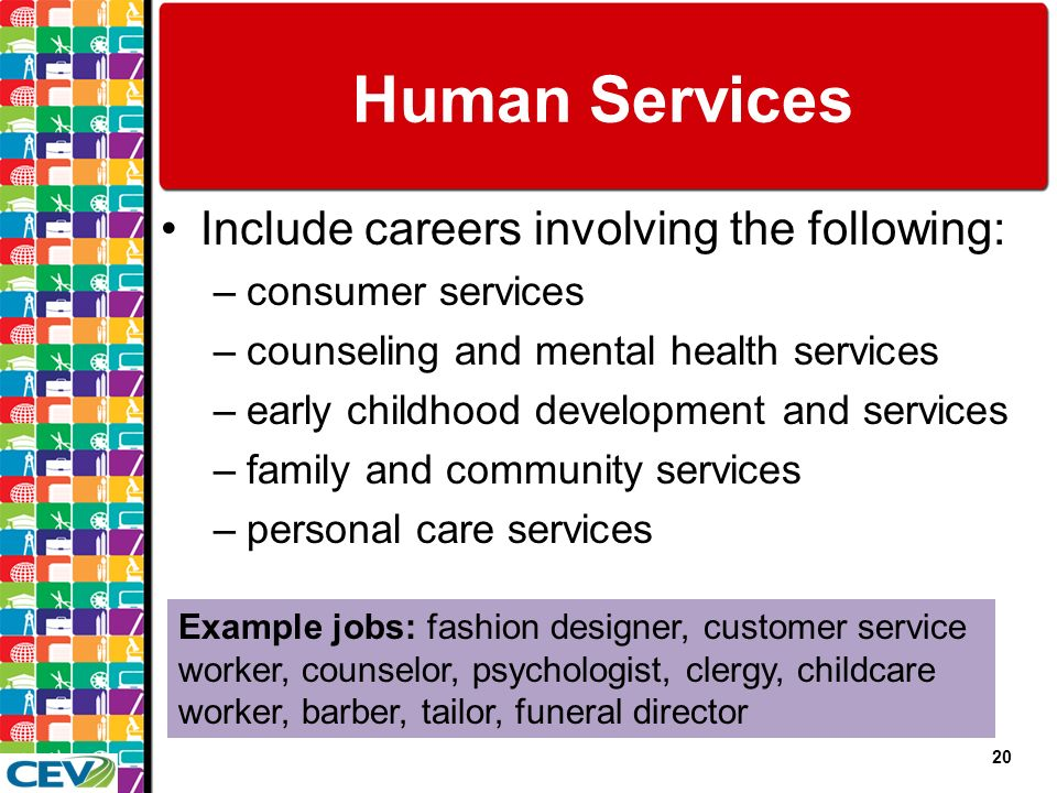 human mental health service worker essay Human service workers are an important aspect to the career field to help  individuals  community psychology: a common sense approach to mental  health.