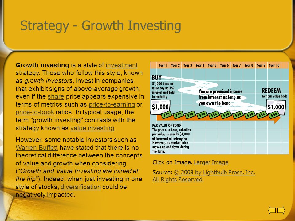 Strategy - Growth Investing