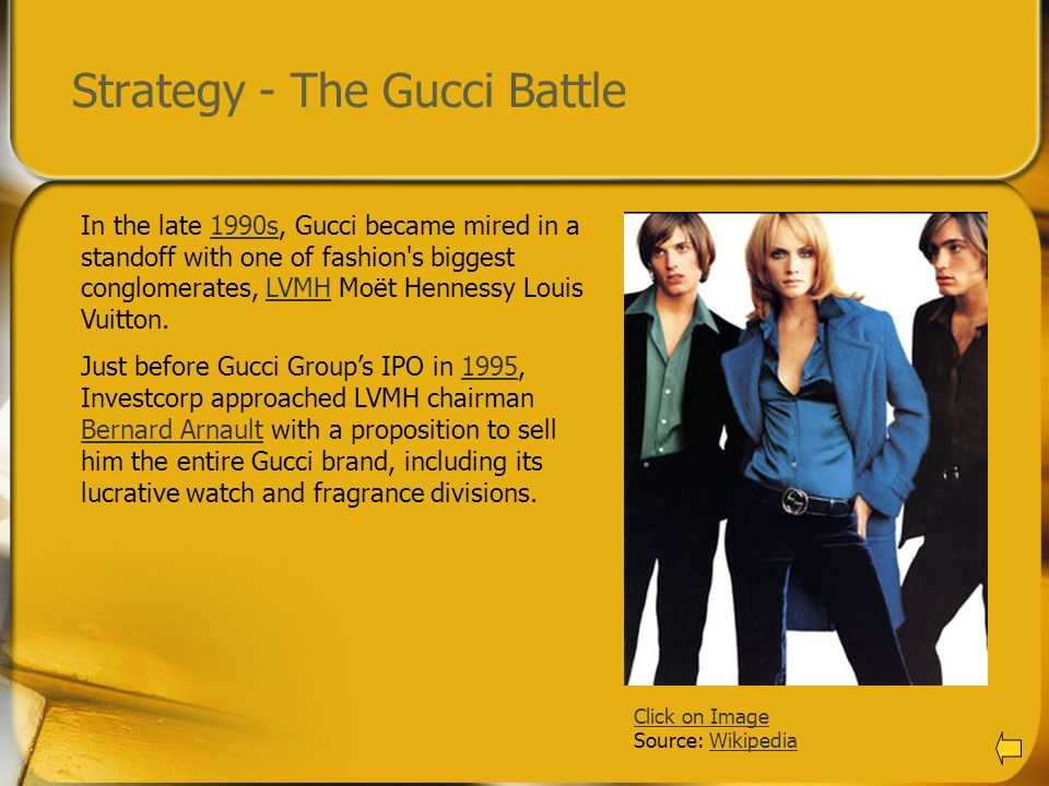 Strategy - The Gucci Battle
