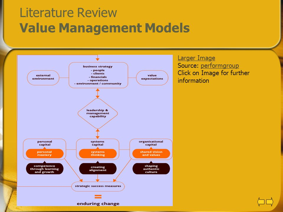 literature review of information management