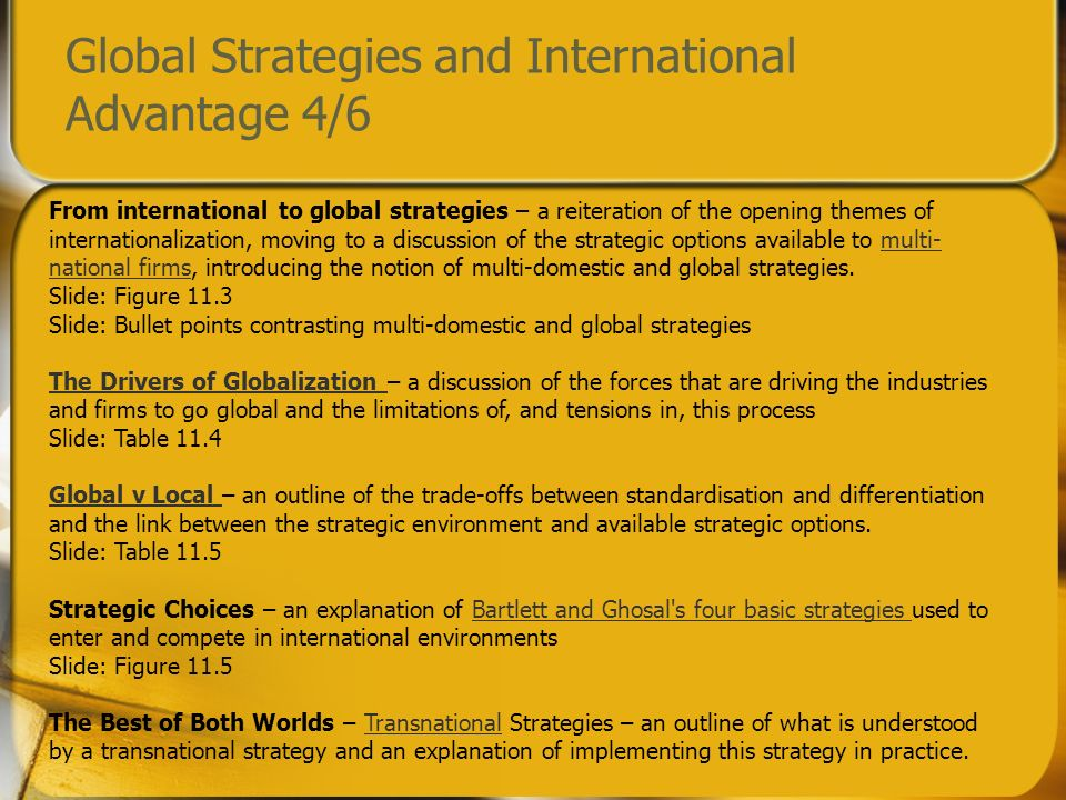 advantages and disadvantages of transnational strategy