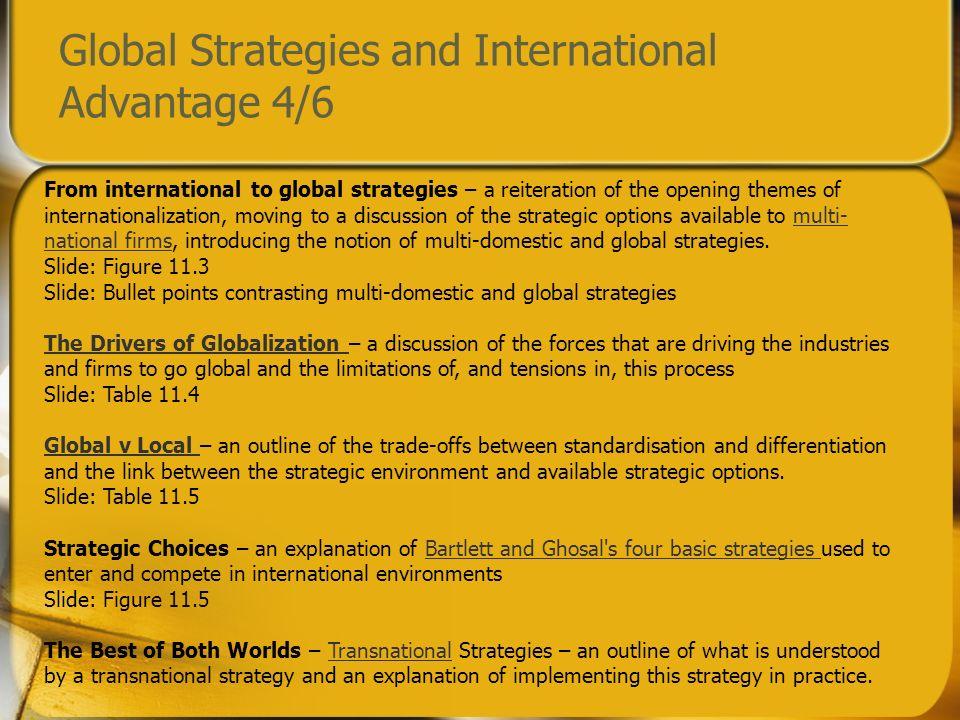 Global Strategies and International Advantage 4/6