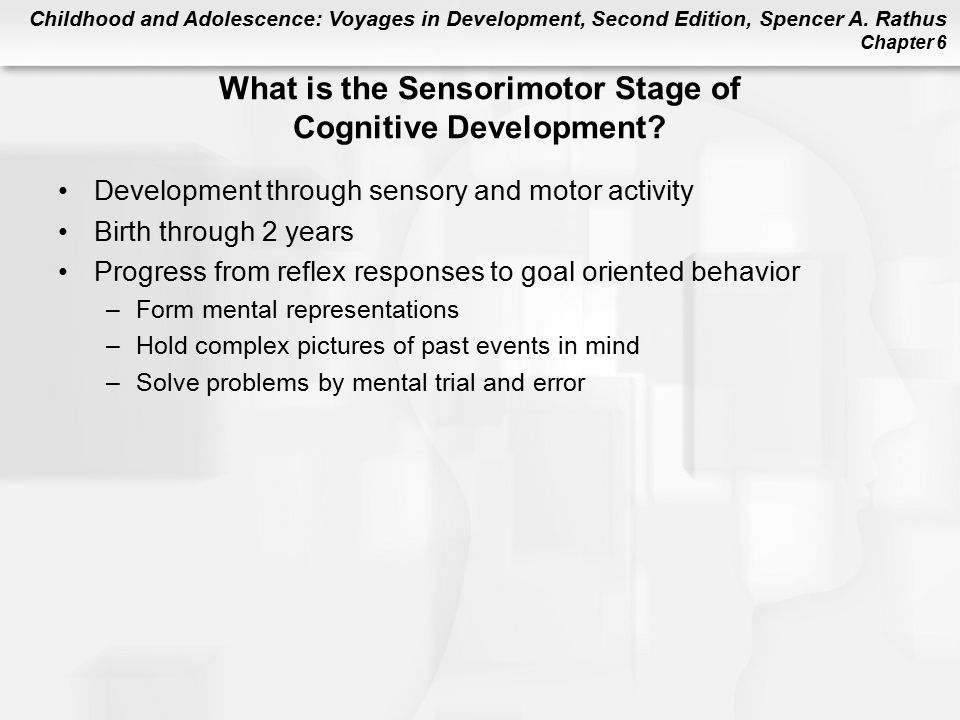 Chapter 6 infancy cognitive development ppt video for Stages of motor development