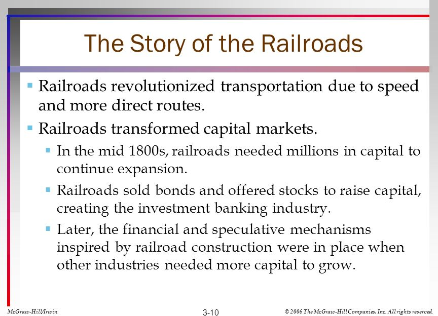 The Story of the Railroads