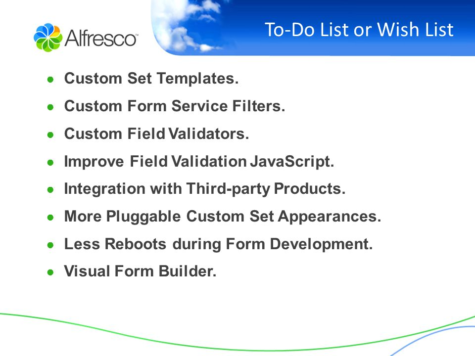 Learning Alfresco Forms Service By Examples - ppt video online download