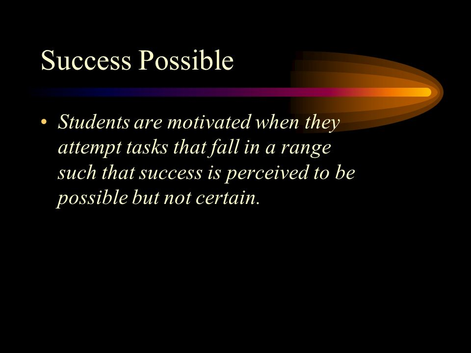Success Possible