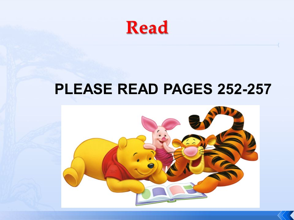 Read PLEASE READ PAGES